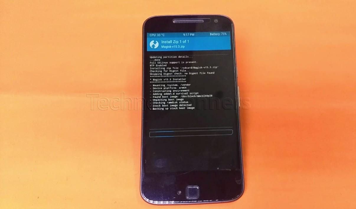 Android oreo with magisk root