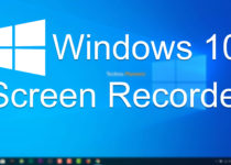 Screen Recorder on Windows 10