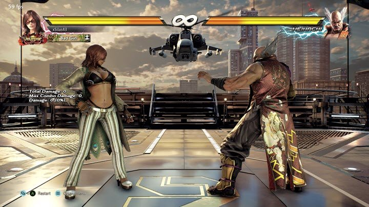 Tekken 7 PPSSPP Screenshot 1