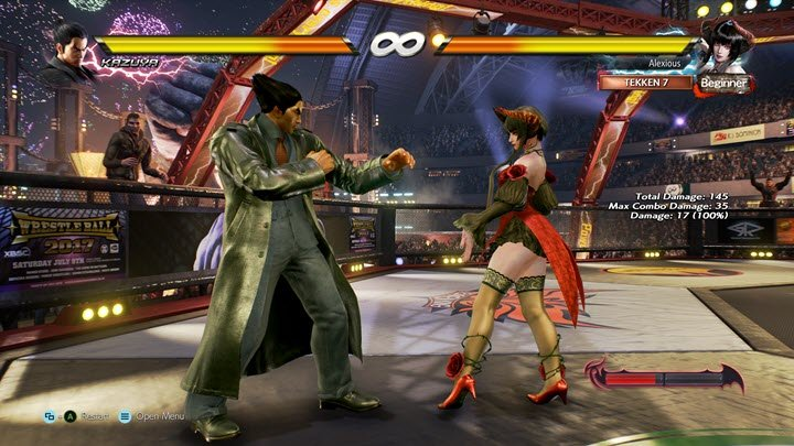 Tekken 7 PPSSPP Screenshot 2
